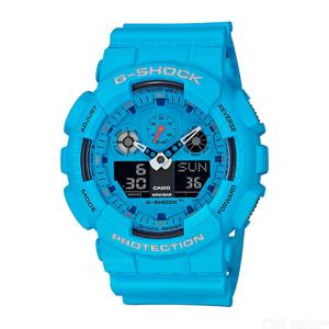 Casio G-Shock Special Colors Rock Music Edition  Resin Watch Male Digital Sports Wristwatch - GA-100RS-2APR