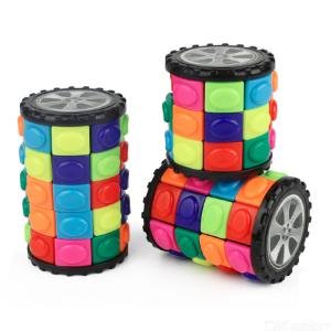 YouPin Speed Cube Bundle, Three Layers 40mm, Four Layers 52mm, Five Layers 65mm Smooth Magic Cube Set with Gift Box