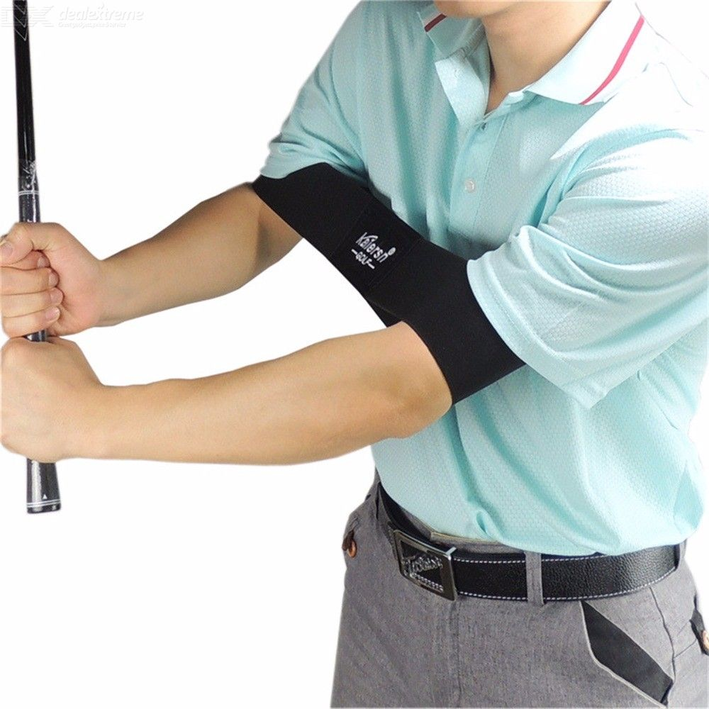 Golf Swing Training Aid Arm Band Trainer For Golfing 42 X 7cm