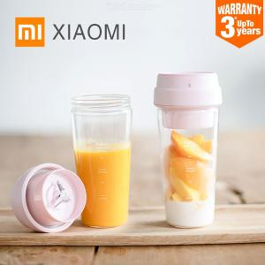 XIAOMI MIJIA 17PIN Small Portable Fruit Blender Bottle Juicer Mixer Food Processor 400ML Magnetic Charging 30 Seconds Of Quick