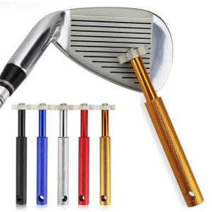 Professional Iron Wedge Golf Club Groove Cleaner Stainless Steel Sharpener Cleaning Tool Golf Accessories