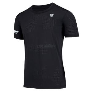 Fitness T Shirt for Men Sweat Absorbent Quick Drying Sportswear for Running Workout Training