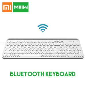 Original Xiaomi Miiiw Bluetooth Dual Mode Keyboard, MWBK01 104 Keys 2.4GHz Multi System Compatible Portable Wireless Keyboard