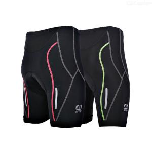 Mens Cycling Shorts 4D Coolmax Padded Bike Bicycle Pants Tights, Breathable And Absorbent