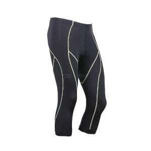 Cycling Seven-cent Pants Elastic Tight-fitting Quick-drying Bicycle Silicone Padded Cycling Pants