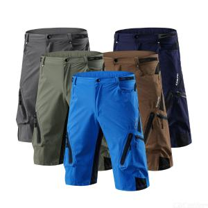 Mens Quick-dry Cycling Shorts Breathable Wear Resistant Sports Pants