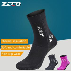 3mm Neoprene Socks, Sand-Proof Upgrade Design Wetsuit Sock For Snorkeling, Kayak, Swimming, Keep Warm And Protection