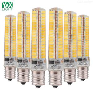 6Pcs E14 10W Super Bright LED Corn Light Bulb AC 200-240V Warm WhiteCold White