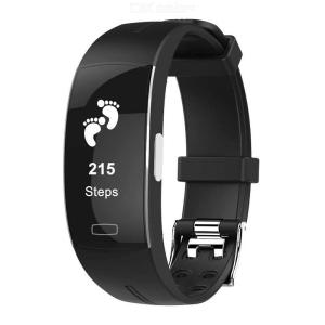 P3 Fitness Tracker Smart Sport Bracelet With Color Touch Screen Electrode ECG Monitoring Heart Rate Sleep Monitor
