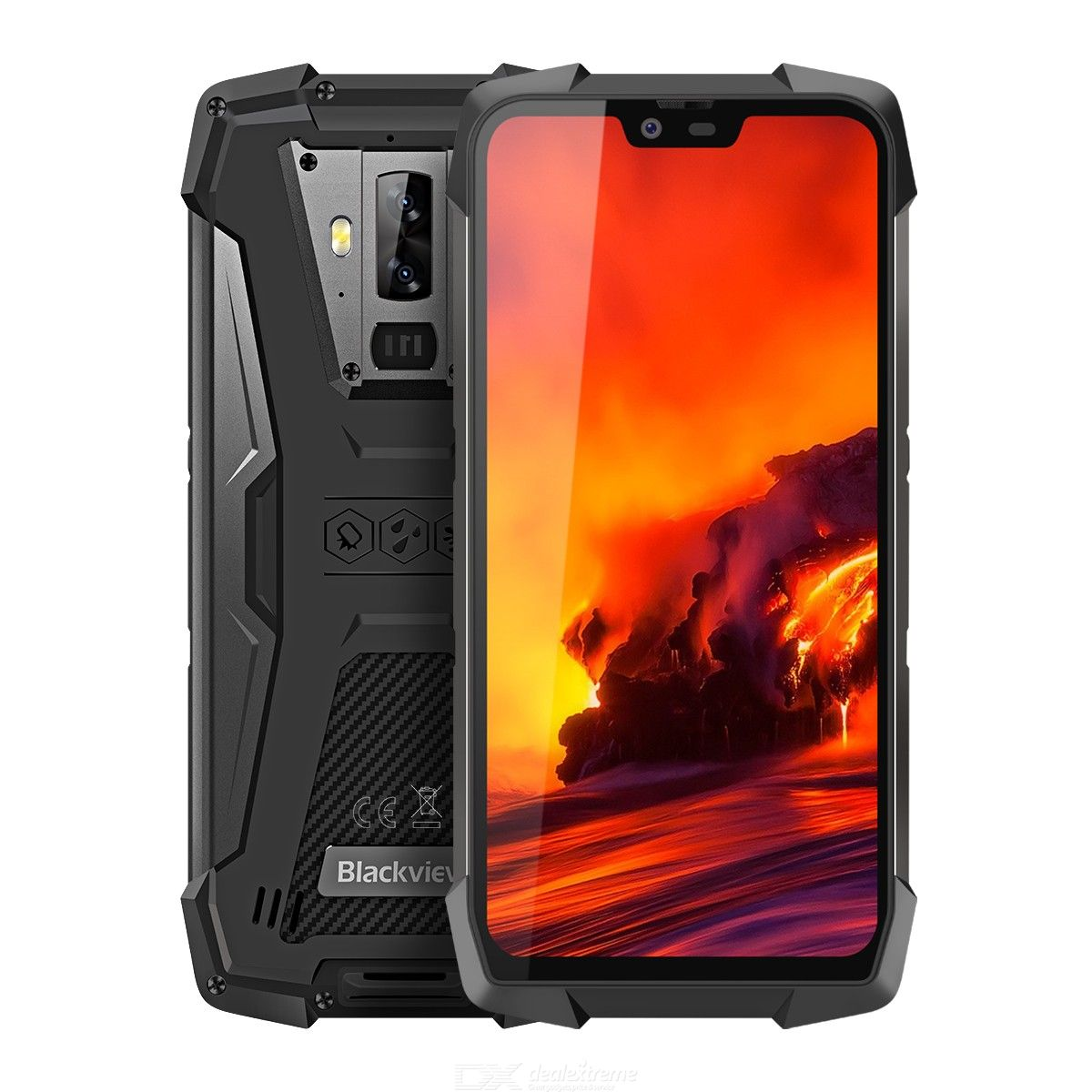 Blackview BV9700 Pro IP68IP69K Rugged Helio P70 Octa core 6GB+128GB 5.84 inch IPS 16MP+8MP 4G Face ID Smartphone
