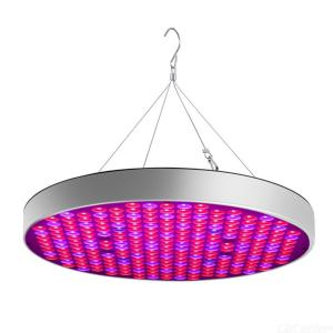 LED Grow Light Bulb Panel 50W UFO Plant Growing Lamp with 250 LEDs for Indoor Plants Flower - US Plug