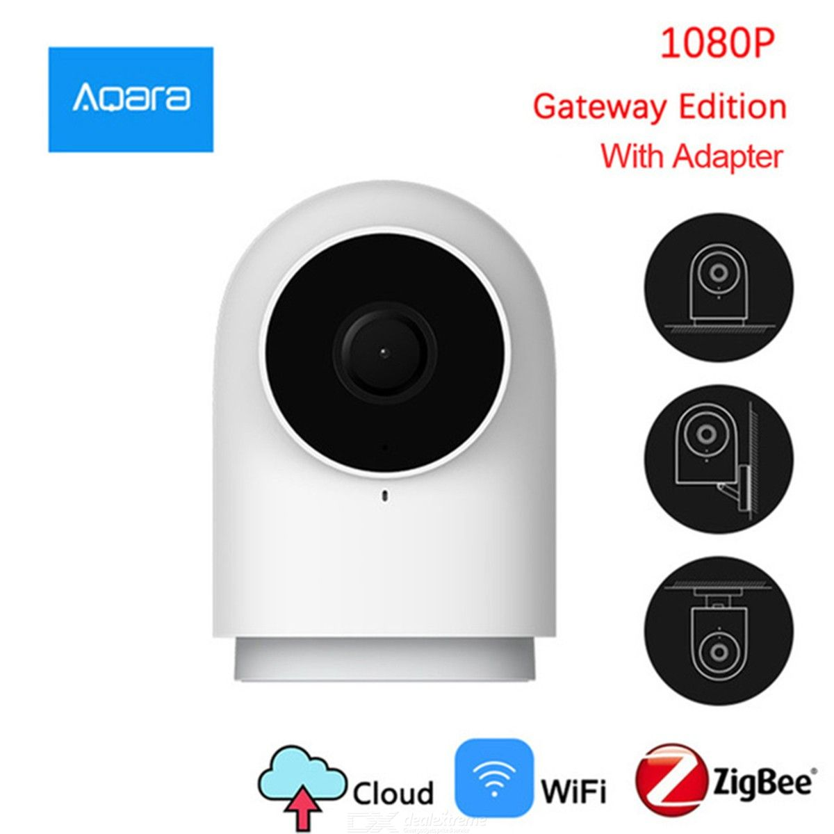 Xiaomi Aqara G2 1080P Home Surveillance With Motion Detection Night Vision Two-way Talk - Gateway Edition Chinese 2-Prong Plug