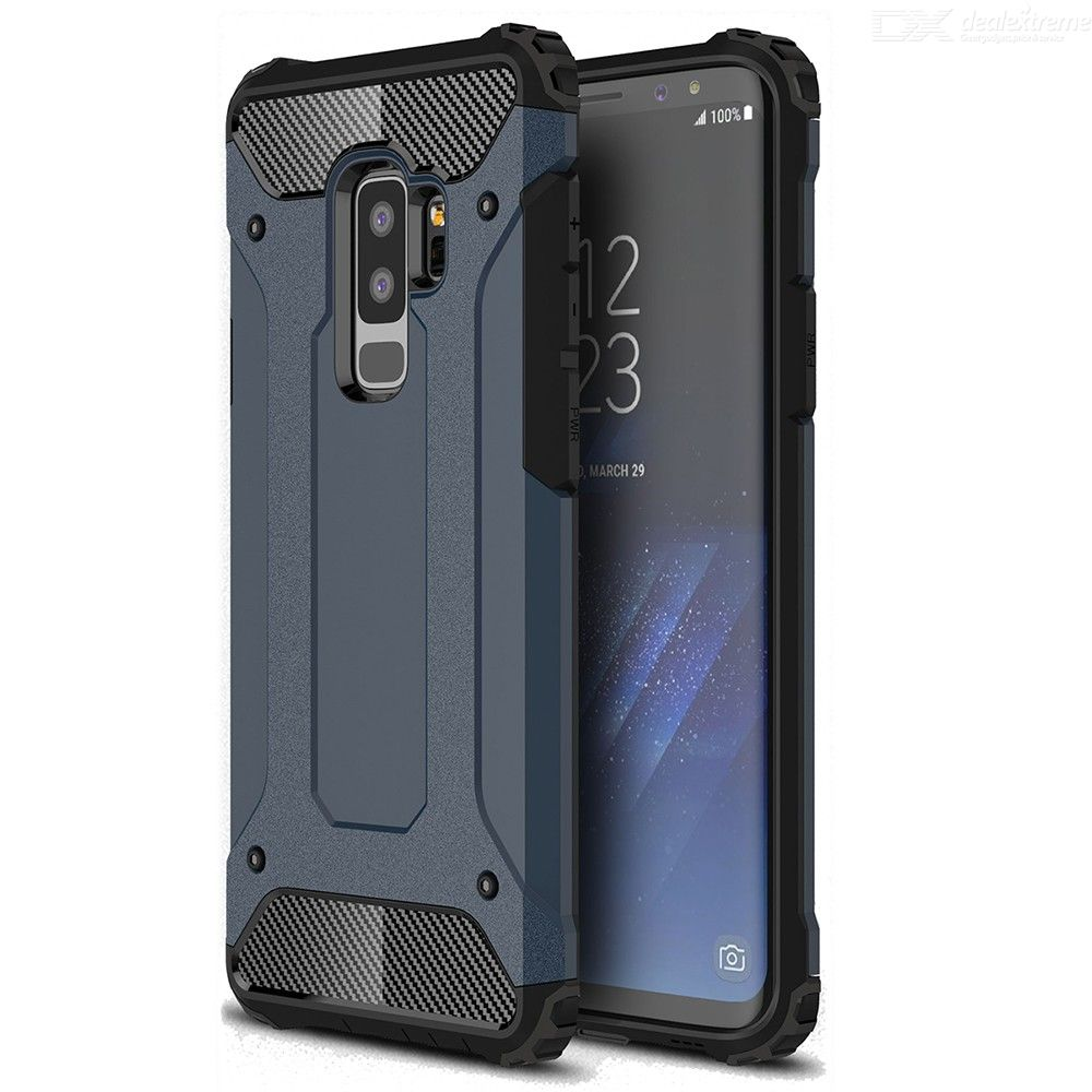 ASLING TPU Case Soft Bumper Full Protective Back Cover for Samsung Galaxy S9 Plus
