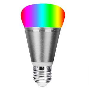 YWXLight E27 Smart LED Lights Warm White and RGB Colors 11W Dimmable WiFi Light Bulb 60W Equivalent Voice APP Control