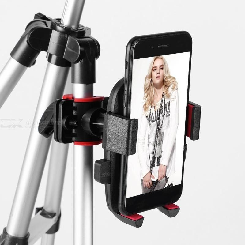 5.7 Inch Dimmable LED Ring Light With Tripod Stand Phone Holder