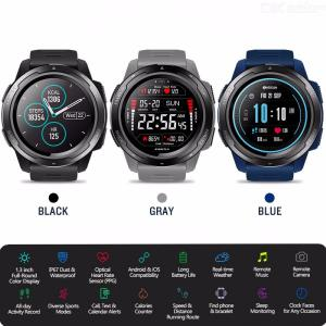 Zeblaze VIBE 5 Color Display Smart Watch Digital Bluetooth Sport Smartwatch Waterproof Heart Rate Monitor For IOS Android