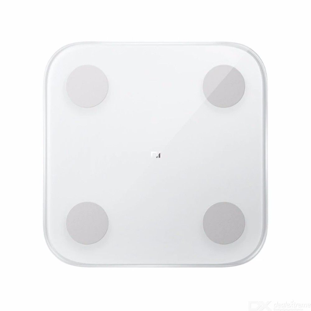 Original Xiaomi Portable Thin Bluetooth Connection Smart Body Fat Scale 2 - Global Edition