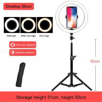 63-Inch-Ring-Fill-Light-For-Live-Streaming-Tripod-Cell-Phone-Holder-For-Live-StreamMakeupYouTube-VideoPhotography