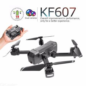 KF607 WIFI FPV RC Foldable Drone 4K Camera Ultra HD Dual Camera Drone Headless Mode One-touch Landing Quadcopter Kids Gifts