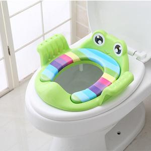 Durable Thickened Cute Children Potty Safe Seat Cover, PP Plastic Kids Independent Toilet Training Ring