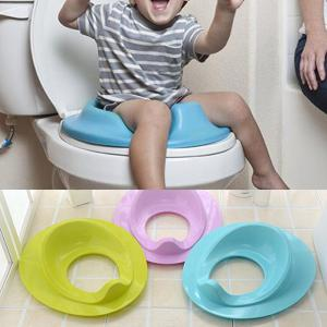 Children Potty Safe Seat Cover, Plastic Independent Toilet Training Ring