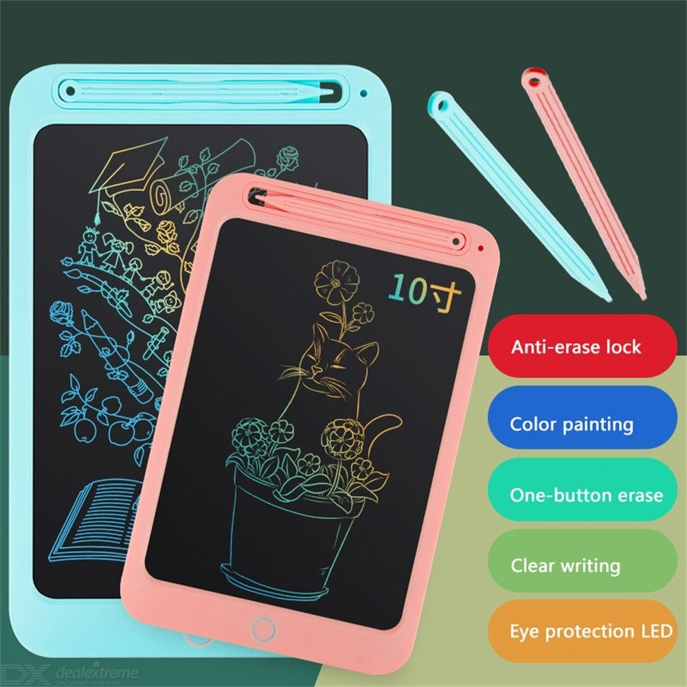 Kids LCD Writing Tablet, 10 Inch Electronic Handwriting Drawing Tablet Doodle Board Gift For Boys Girls