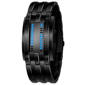 SKMEI 0926 Fashion Creative Digital Watch LED Display 50M Waterproof Lovers Wristwatches