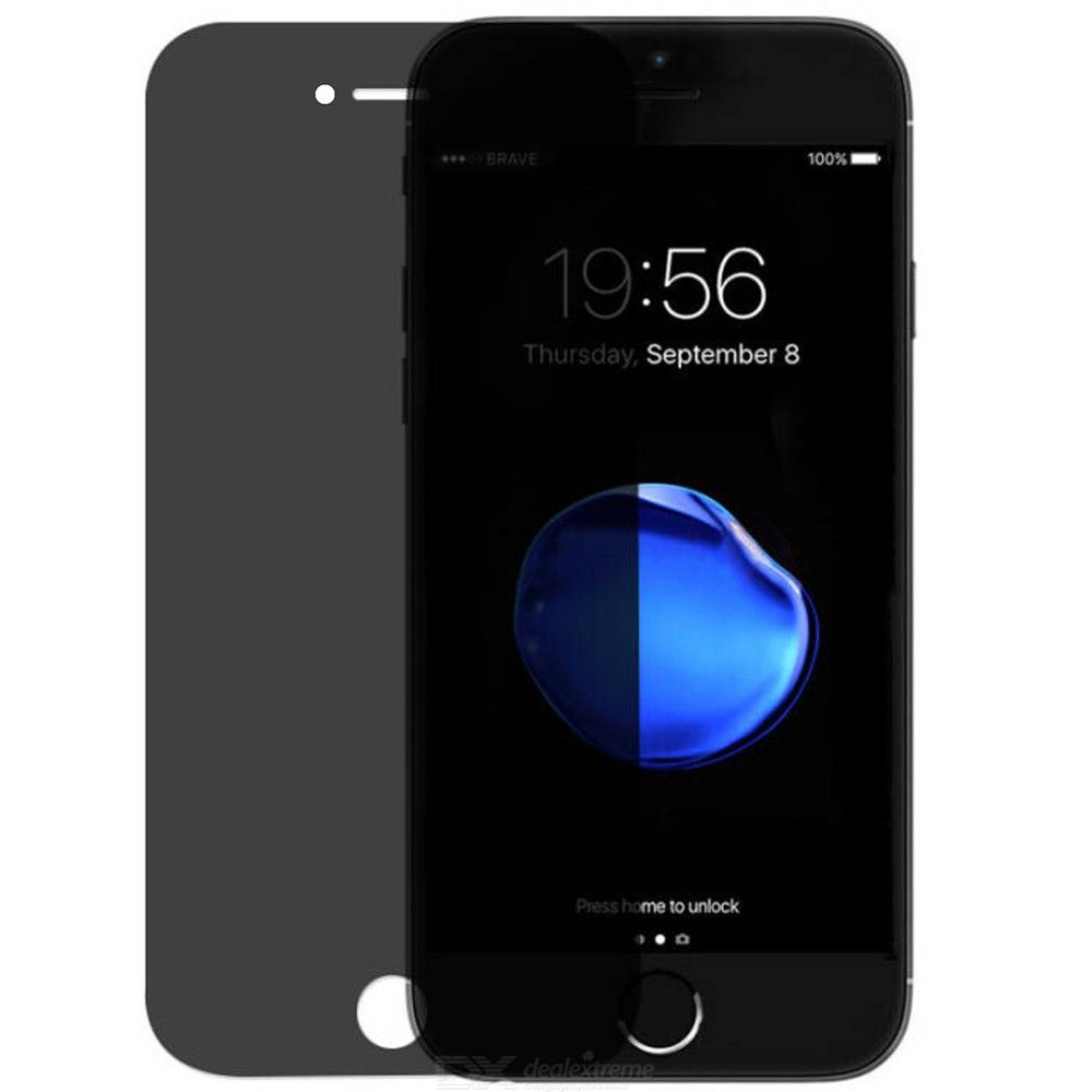 Dx coupon: ASLING Privacy Tempered Glass Screen Protector for iPhone 7 Plus  8 Plus Anti-Spy Anti-PeepFull Cover