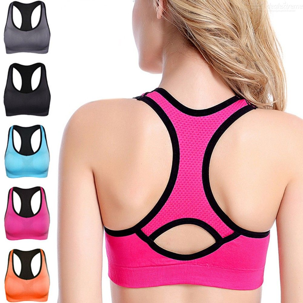 Women?s Sports Bras Shock Absorber Padded Workout Bras Bralette For Yoga Fitness Exercise Jogging Cycling Running