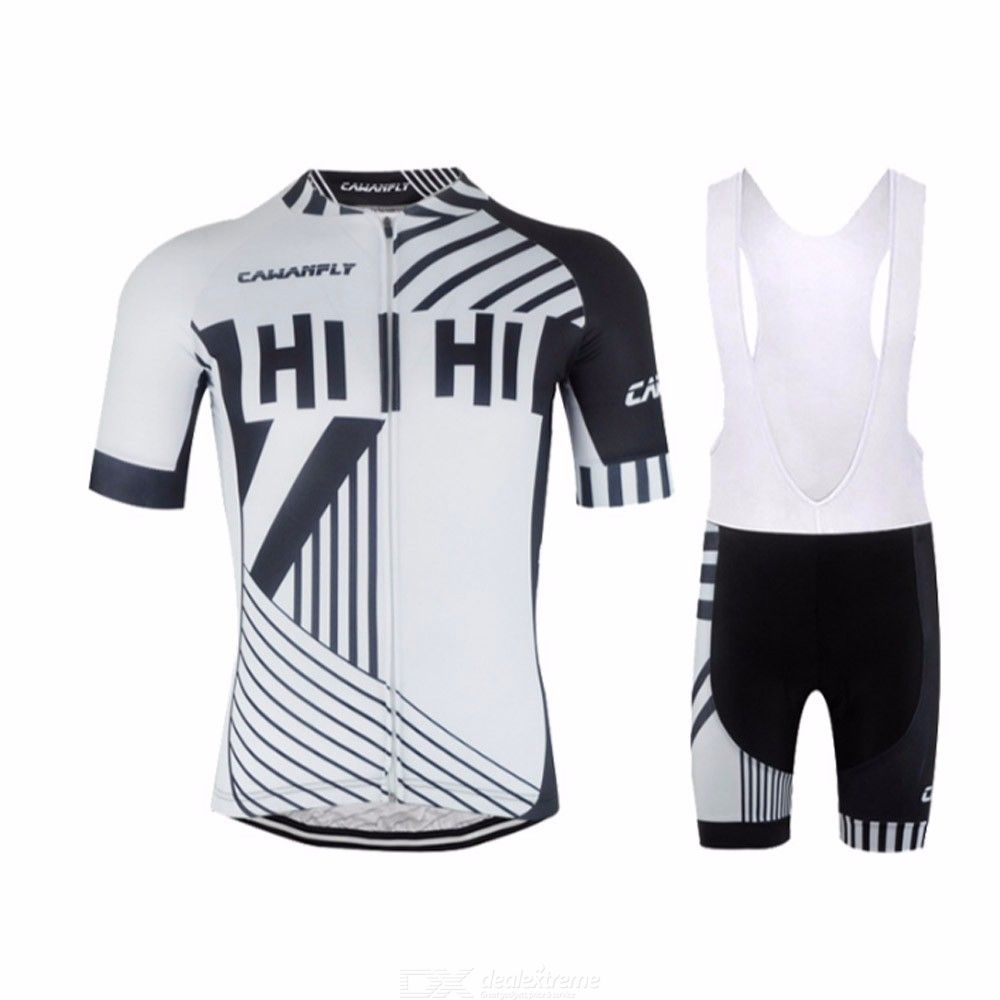 Mens Summer Cycling Jersey And Bib Shorts Quick Dry Upf 40 Padded Bike Clothing Set Free Shipping Dealextreme