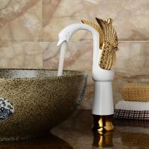 Contemporary-Swan-Shaped-Bathroom-Basin-Faucet-(Tall)