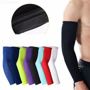 1Pc Arm Cooling Sleeves UV Sun Protection Arm Sleeves For Cycling, Driving, Basketball Men Women