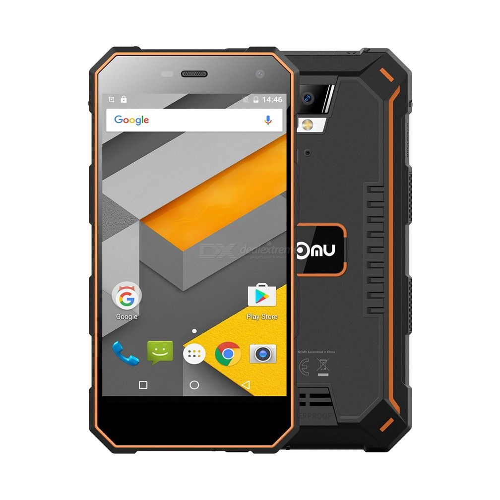 Nomu S10 Pro Mobile Phone 5000mAh IP68 Waterproof 3GB+32GB 5.0 Inch Quad Core Dual Camera Android 7.0 Rugged Smartphone
