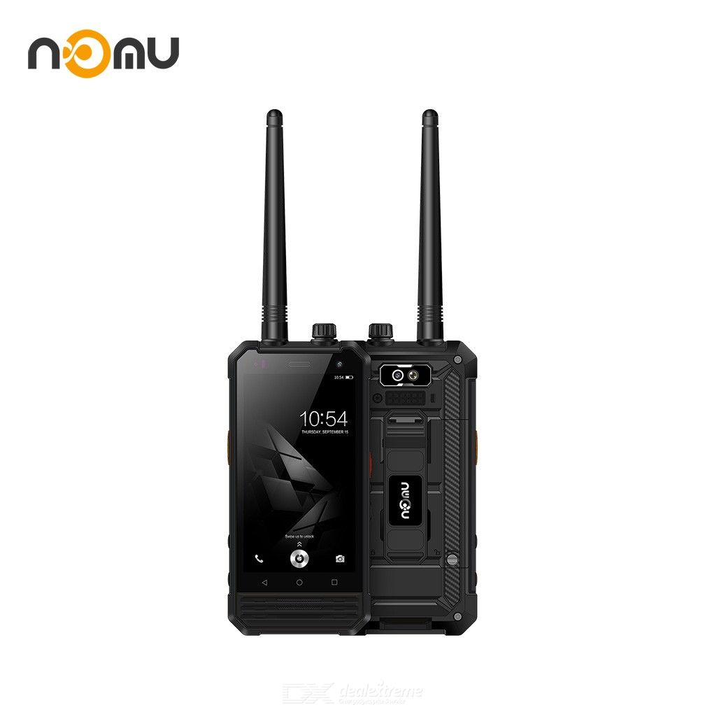 NOMU T18 Rugged Smartphone 2GB +16GB, Waterproof Shockproof Dustproof Military Grade Walkie Talkie IP68 4.7 Inch HD Android 7.0