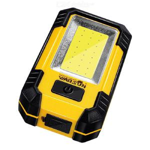 Portable Rechargeable LED Work Light 30W Super Bright Emergency Lights Outdoor Camping Lamp With Power Bank Function