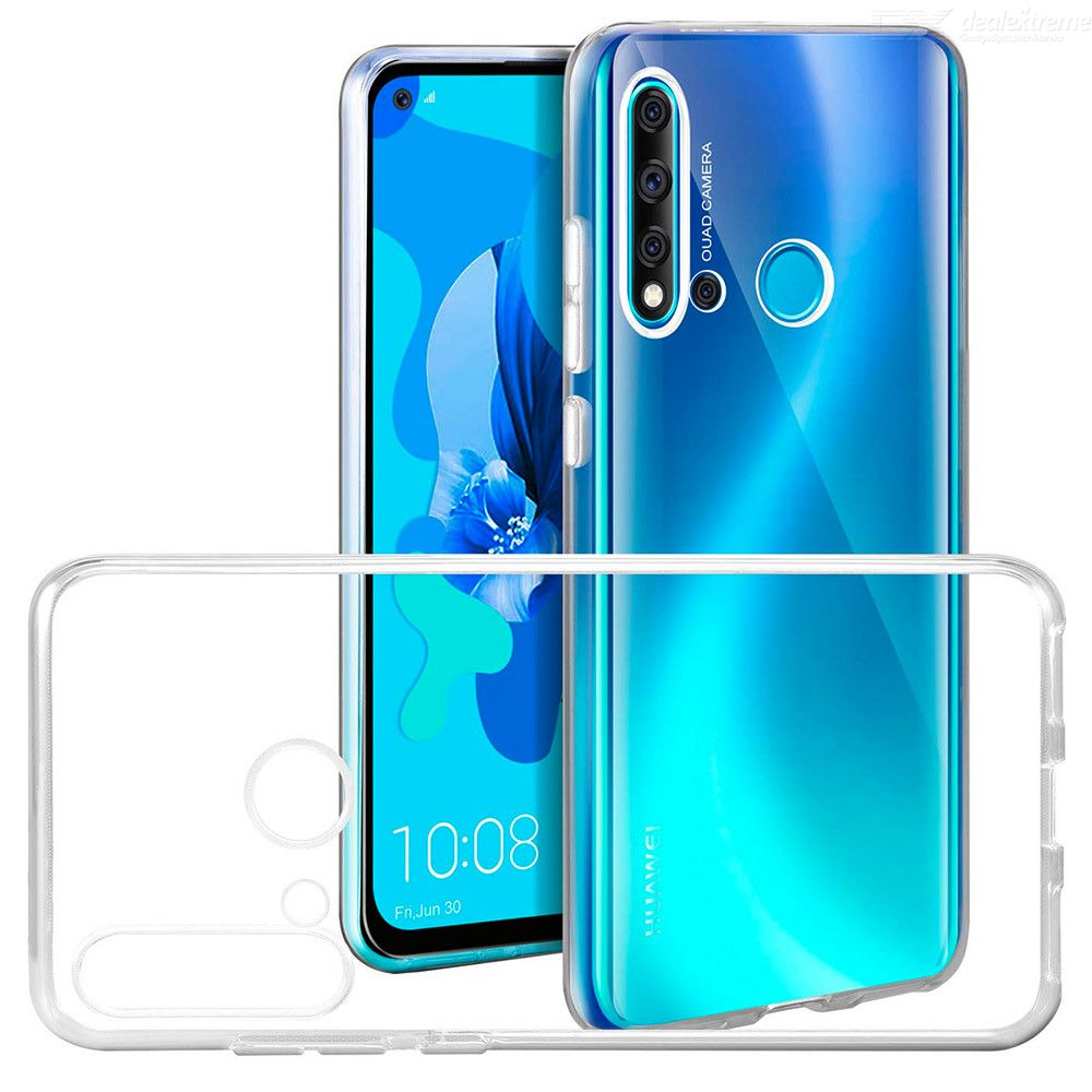 Naxtop Soft TPU Bumper Cover Case For Huawei P20 lite 2019 Protective Case