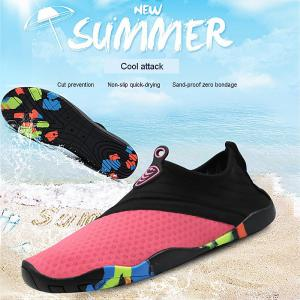 Women Water Shoes Quick Dry Lightweight Barefoot Solid Drainage Sole For Swim Diving Surf Beach Aqua Pool