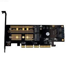 3-in-1-Msata-and-M2-SSD-to-PCI-E-4X-and-SATA3-Adapter-with-Heatsink