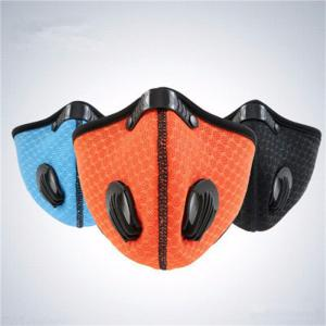 Unisex Breath Valve Mouth Mask Anti-Dust Anti Pollution Face Masks For Outdoor Running Cycling