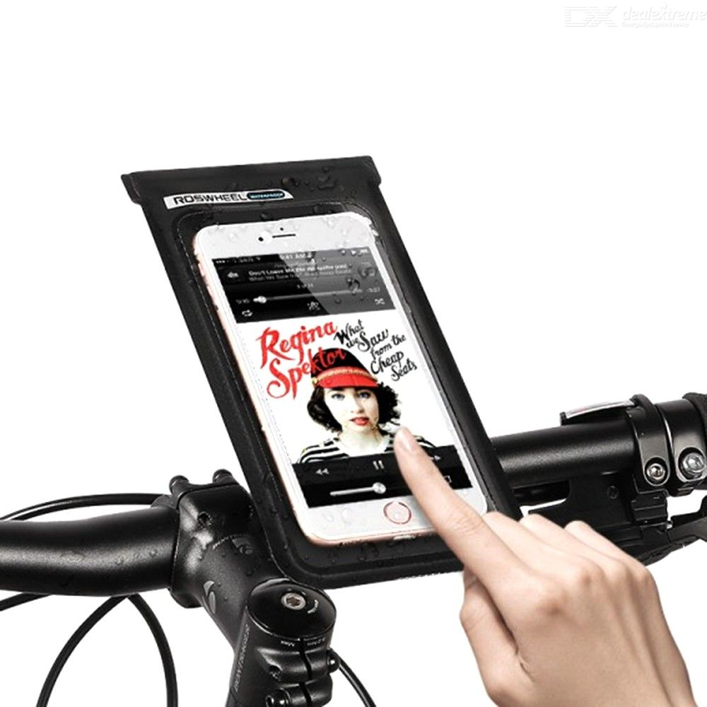 Waterproof | Cellphone | Bicycle | Screen | Holder | Touch | Phone | Bike | Bag