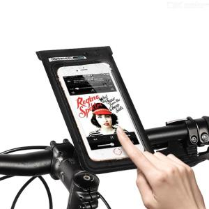 ROSWHEEL Bicycle Bike Cellphone Pouch Waterproof Mobile Phone Touch Screen Bag Holder
