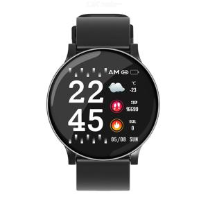 DMDG Round Screen Intelligent Sports Watch Heart Rate Blood Pressure Monitor Waterproof Smart Bracelet for Android IOS