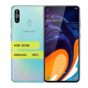 Samsung Galaxy A60 4G Android Smartphone With 6.3 Inch Full Screen Snapdragon 675 Octa-Core 6GB 64GB 3500mAh NFC - US Plug