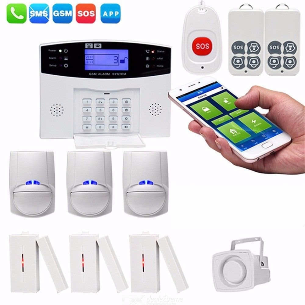 CS85-BD Wireless GSM Home Burglar Alarm System DIY Kit Smart Security  Protection Alarms Apparatus (US Plug) - Free shipping - DealExtreme