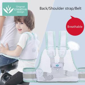 Kids Motorcycle Safety Harness Breathable Mesh Riding Belt