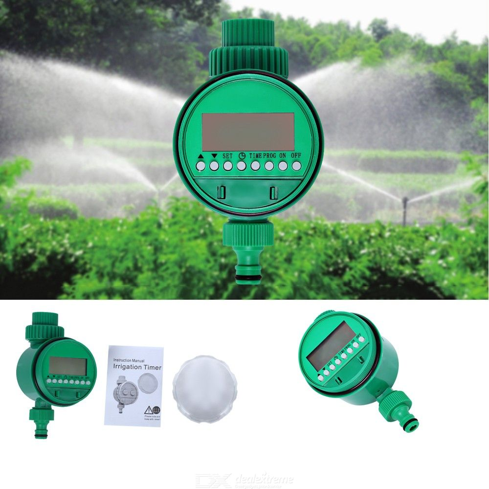Intelligent Digital Irrigation Controller Automatic Electronic Watering Timer With LCD Display For Garden