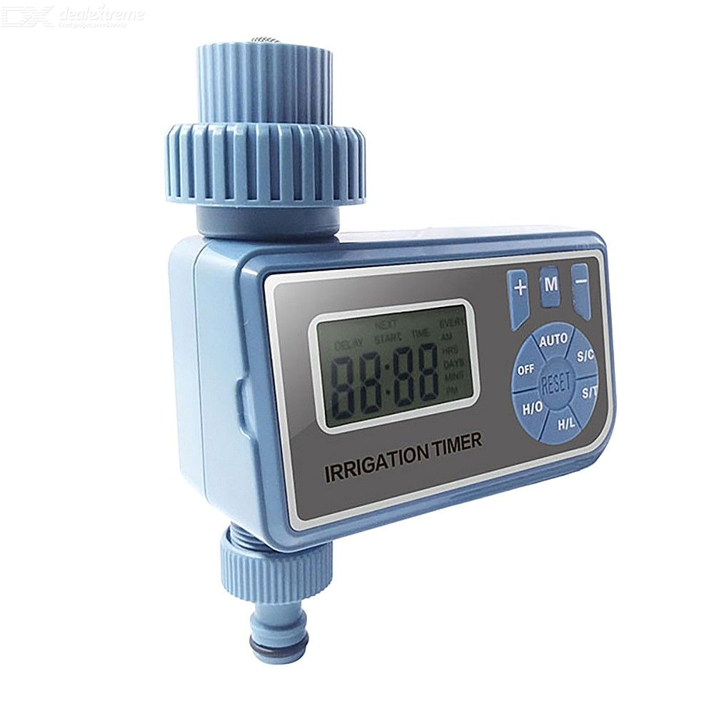 Automatic Irrigation Timer Electronic LCD Display Watering Controller For Garden Greenhouse
