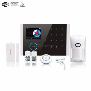CS108 Wireless WiFi GSM GPRS Door Bell Smart Alarm System Switchable Home Safety Burglar APP RC With SOS Button