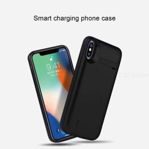D94C Battery Charger Case For IPhone XR 6000mAh Upgraded Power Bank Case With Phone Stand