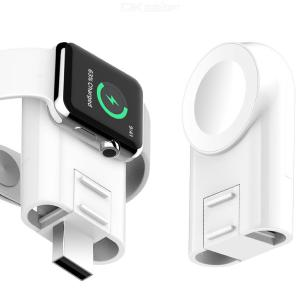 Magnetic Absorption Wireless Charger with Adjustable Angle for iWatch Generation1234